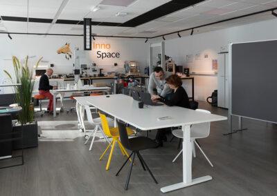 Aménagement d'un espace innovation