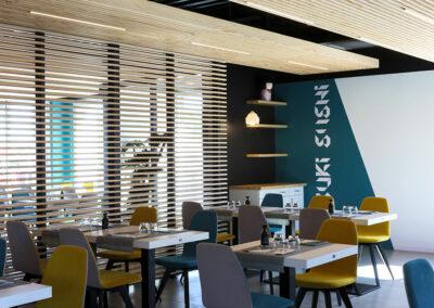 Création d'identité et aménagement d'un restaurant japonais